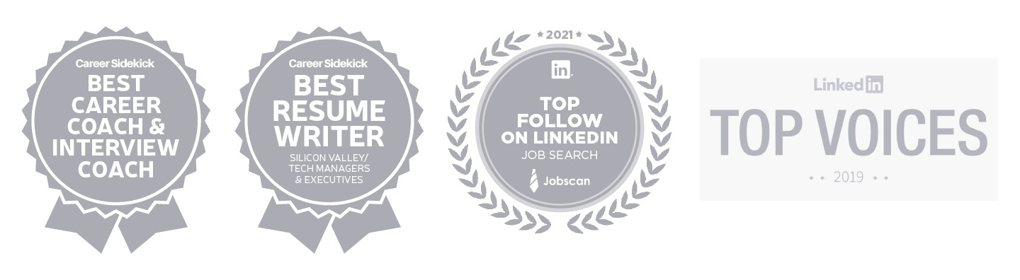 As Featured On: Forbes, Fast Company, The Muse, Ladders, Glassdoor, etc.